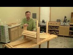 Building an Adirondack Chair Part 2 - YouTube
