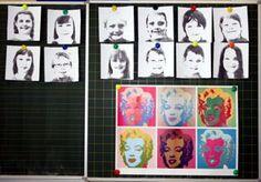 Andy Warhol - Selbstbildnisse mit Farbe variieren
