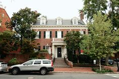 Entrepreneur Otto W. #Hoernig III bought an eight-bedroom, six-bath Georgian-style #home in #Georgetown for $5 million. The 8,000-square-foot detached #house was built in 1916. Hoernig cofounded #SpaceLink International, a #government contractor in #Dulles that he later sold for more than $150 million. He's now president of the #Tysons telecommunications firm #Trace Systems, and he also runs #Casa Noble, a high-end tequila distillery in #Mexico. #washington #dc #celebrity #luxury #deal