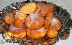 Joghurtos édesburgonya fánk recept fotóval Pretzel Bites, Sweet Potato, Potatoes, Bread, Recipes, Food, Diet, Potato, Brot