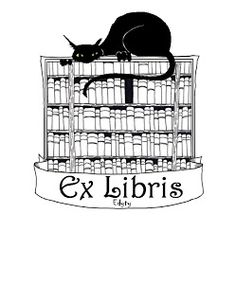 Ex libris | Miss Jacobs Library book plates... I love them.