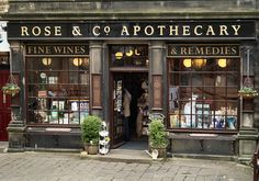 Apothecary 9054 Apothecary Haworth Bronte Country Yorkshire