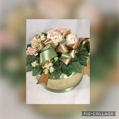 BLUSH FLORAL HAT Box, Wedding Gift Box, Bridal Shower Gift Box, Birthday Gift Box, Home Decor Storage Box, Decorative Storage Box, Hat Box
