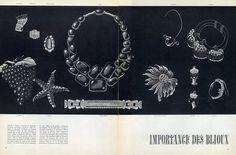 Boivin, Van Cleef & Arpels, Cartier, Boucheron, Ostertag, Herz-Belperron 1937 Art Deco Jewels