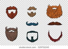 Find Stylish Beard Moustache Set Collection stock images in HD and millions of other royalty-free stock photos, illustrations and vectors in the Shutterstock collection. Stylish Beards, Beard Images, Pop Art Background, Emoji Characters, Hipster Design, Retro Illustration, Cricut Creations, Moustache, Pencil Drawings