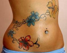 Vine Tattoo For College Girls