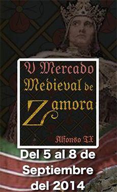 Mercado Medieval Zamora 2014