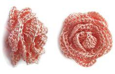 Flores de crochet. | Aprender manualidades es facilisimo.com