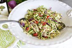 Lebanese Cabbage Slaw or Malfouf Salad   Maureen Abood on Rose Water & Orange Blossoms