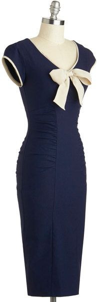 Modcloth Sheath A Lady Dress