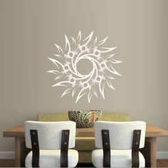 Wall Decal Decor Decals Sticker Art Sun Beam Star Inscription India Buddhism Yoga Symbol (M346) DecorWallDecals http://www.amazon.com/dp/B00FYMHNX6/ref=cm_sw_r_pi_dp_p2FYub148TJAF