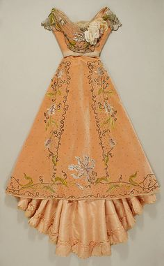 Ball Gown Jacques Doucet, 1898-1900 The Metropolitan Museum of...