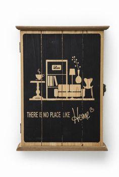 Κλειδοθήκη There Is No Place Kare Design, Liquor Cabinet, Places, Furniture, Home Decor, Decoration Home, Room Decor, Home Furnishings, Home Interior Design