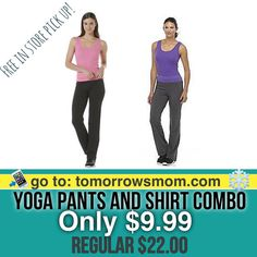 Cute Gift Set both pants and shirt $9.99 plus Free In Store Pick Up. . Click link in my bio @tomorrowsmom -read .  Many colors and sizes go check it out.  Type this link on your browser: . TomorrowsMom.com  or follow the link in my Bio a@Tomorrowsmom at TomorrowsMom.com #tomorrowsmom . #holidays #christmas #gifts #frugal #savings #deals #cosmicmothers #feminineenergy #loa #organic #fitmom #health101 #change #nongmo #organiclife #crunchymama #organicmom #gmofree #organiclifestyle…