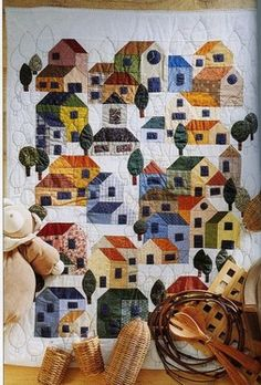 Another House quilt for inspiration.