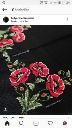 Chain Stitch, Cross Stitching, Brooch, Flowers, Jewelry, Cross Stitch Embroidery, Cross Stitch Rose, Towels, Herb