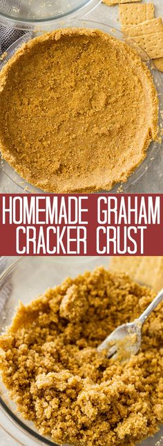 Homemade Graham Cracker Crust