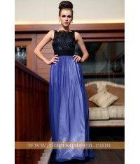 spaghetti chiffon formal evening gowns 30847