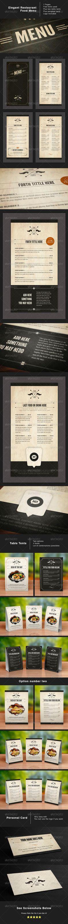 Design Food Stationery - GraphicRiver Item for Sale… new yorks kids only restaurant menu designed by caden, ricky, haley, cooper, henry, alida, and the hatch children