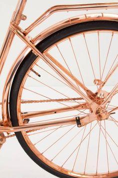 pretty copper bike