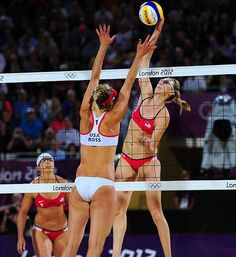 Misty May-Treanor and Kerri Walsh at London 2012 Olympic Games: Day 12 - Photos - SI.com
