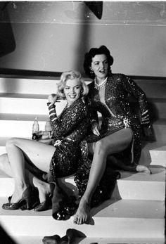 marilyn monroe, jane russell ~ gentlemen prefer blondes