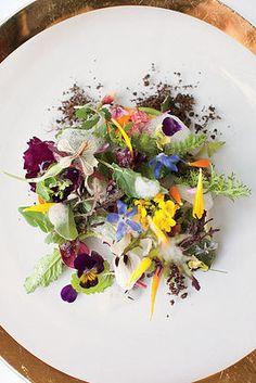 Stunning Salad! Amazing use of color