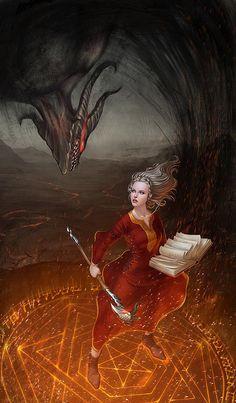 Hot Digital Illustrations by Dmitry Grebenkov
