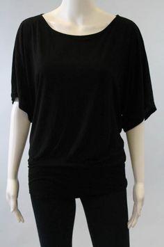 Michael Stars black tunic top for $29