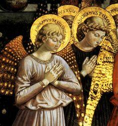 Benozzo Gozzoli: Adoring Angel, ca.1460-80
