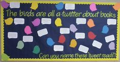 Bulletin board for my high school English classes