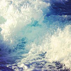 Atlantic Ocean waves foam summer splash