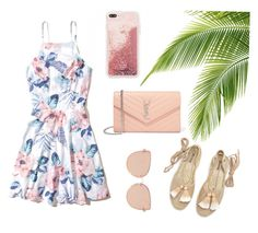 Pinpin by dindarmdhi on Polyvore featuring polyvore, fashion, style, Hollister Co., Soludos, Yves Saint Laurent, Topshop and clothing