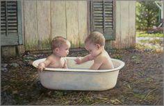 Baby Bath Buddies!