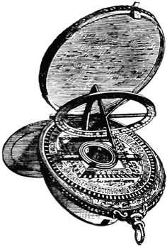 The astrolabe was invented in the Hellenistic world in 150 BC and the invention is usually credited to Hipparchus. It had many different uses include locating and predicting the positions of the Sun, Moon, planets, and stars, determining local time given local latitude and vice-versa. Before tools like the chronometer, it was used to aid navigation for sailors.