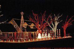 Home Christmas Lights Photo Gallery | Bilder vom Christmas Light House Hallum - Weihnachts-Lichter.DE