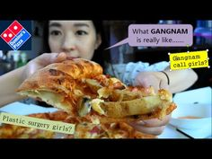 Dominoes Pizza Mukbang/ What you see in Gangnam.