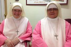 Nuns at the Holy Spirit Adoration Sisters convent in Philadelphia will go to mass with Pope