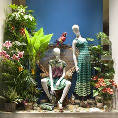 """MISSONI,Milan,Italy, """"Listen Rosabella...I'm a parrot,I can pick up an accent and just do it!"""", pinned by Ton van der Veer"""