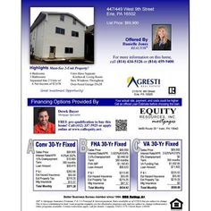 for Check out these great financing options from Derek Bayer at PA Equity Resources ...