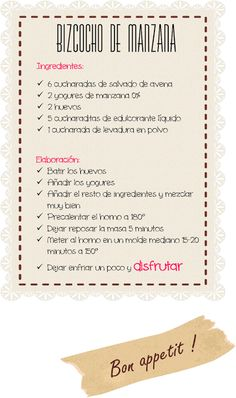 Pan Dukan: a healthy and low-calorie breakfast Menu Dukan, Dukan Diet Recipes, Menu Dieta, Healthy Eating Recipes, Clean Recipes, Weight Loss Diet Plan, Weight Loss For Women, Lose Weight, Herbalife
