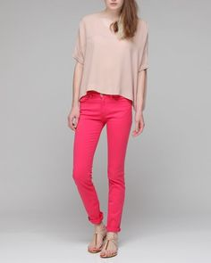really wanting some bright pink pants
