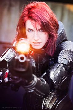 Mass Effect's Commander Shepard, Reporting For Duty - Album on Imgur