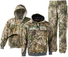 ColorPhase is the world's first camouflage clothing to be printed with rapid-change, temperature-activated dye. In mild temperatures, the Ca...