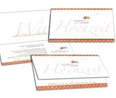 Hochzeitseinladungen - Glückspilz(e) Bullet Journal, Pictures, Orange And Turquoise, Fabric Patterns, Card Wedding, Marriage Anniversary