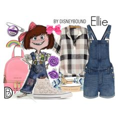 Ellie by leslieakay on Polyvore featuring Madewell, Converse, MICHAEL Michael Kors, Kate Spade, Bling Jewelry, Georgia Perry, disney, disneybound and disneycharacter
