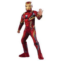 Halloween Boys' Marvel Iron Man Deluxe Muscle Costume - S Multicolored Iron Man Halloween Costume, Toddler Halloween Costumes, Boy Costumes, Halloween Kids, Happy Halloween, Captain America Costume, Marvel Captain America, Iron Man Suit, Muscle Boy