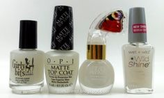 Frazzle and Aniploish: Matte Topcoat Comparisons, Part 12