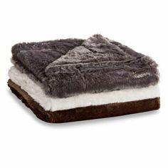 Snowy Soft Throws - BedBathandBeyond.com, $40