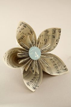 Book Page Origami Kusudama Flower - CraftfoxesMake a Kusudama flower out of old book pages.Book Page Origami Kusudama Flower. Another tutorial - looks a little tricky, but can probably figure it out.Tutorial on how to make Book Page Kusudama Flower - Flower Crafts, Diy Flowers, Fabric Flowers, Origami Flowers, Flower Bouquets, Table Flowers, Old Book Crafts, Book Page Crafts, Paper Book